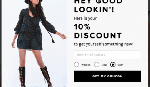 7 Creative ways for you to use a popup on your e-commerce website