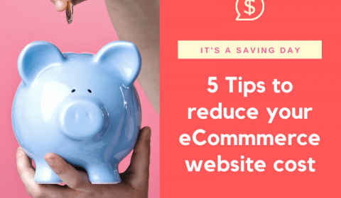 5 Ways to reduce your eCommerce website cost in Singapore