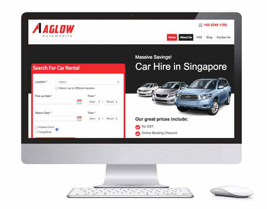 website developer Singapore